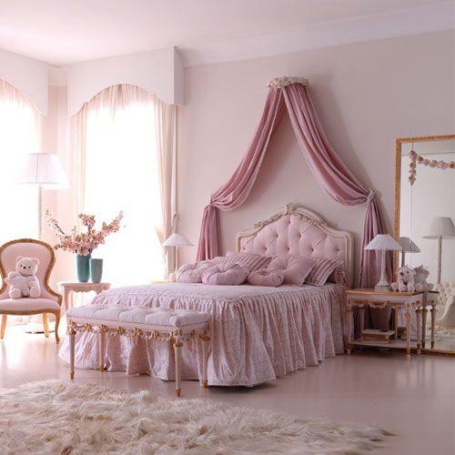 dormitorio retro para nena