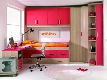 Dormitorios juveniles peque a casa web - Como decorar una habitacion pequena juvenil ...