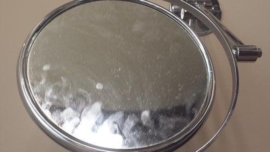 espejo sucio