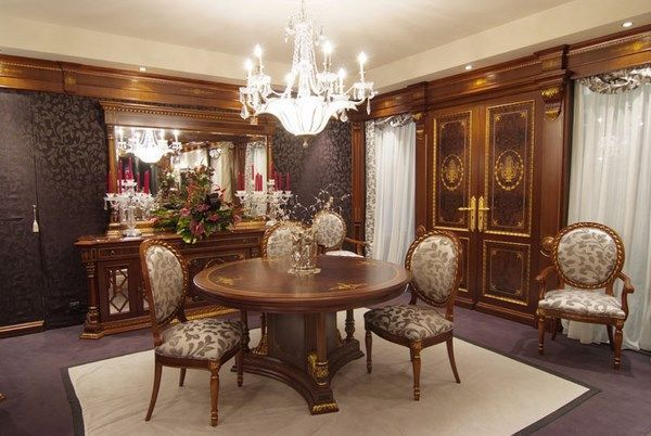 Muebles antiguos comedor casa web for Living estilo clasico