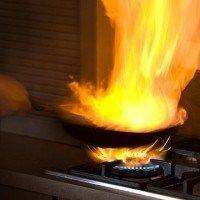 Como prevenir incendios en tu cocina
