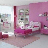 habitaciones ninas color rosa 12