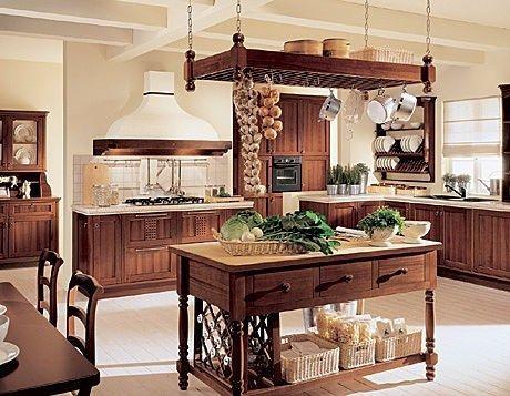 Cocina rustica 1 casa web for Disenos de cocinas campestres