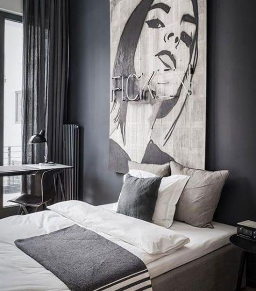 Gigantografías en tu dormitorio moderno