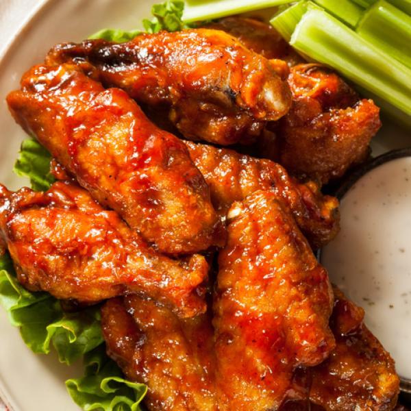 alitas de pollo picante receta
