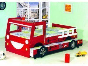 cama bombero para niños