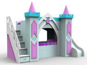 cama castillo para nenas