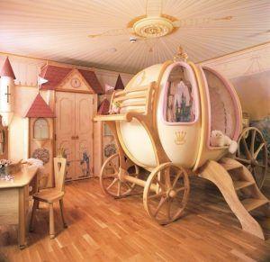 cama cenicienta para nenas
