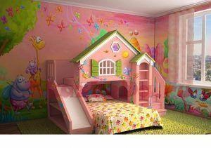cama con casa para nenas