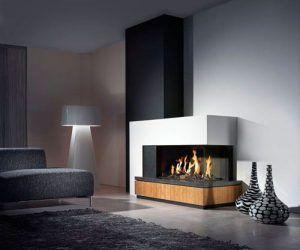 chimeneas para casas modernas