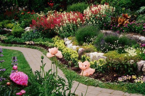 diseños de jardines parquizacion