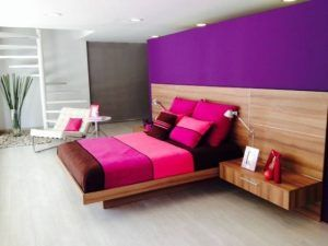 dormitorio estilo Kitsch moderno