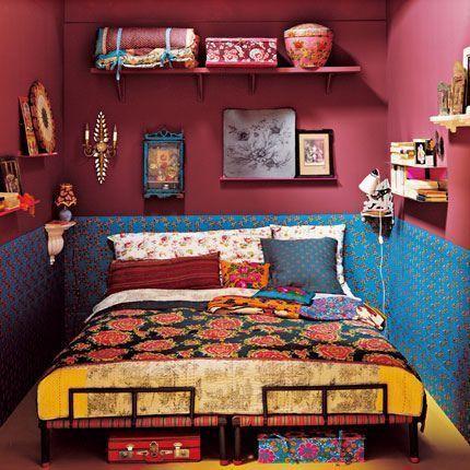 dormitorio estilo Kitsch