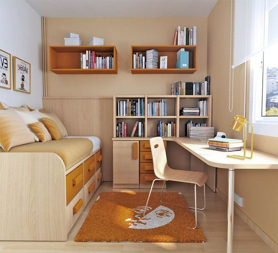 dormitorio juvenil moderno chico