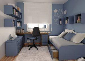 dormitorio juvenil moderno para varon