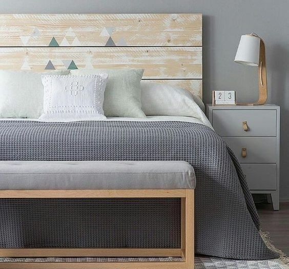 dormitorio moderno tonos claros