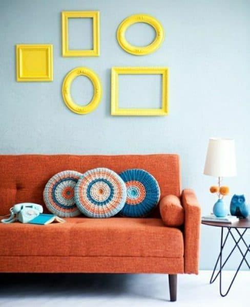 living living y naranja