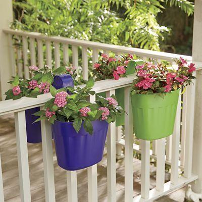 masetas de plasticos para balcones