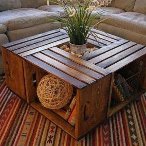 mesa sala de estar con cajones