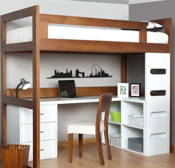 muebles para dormitorios pequeños
