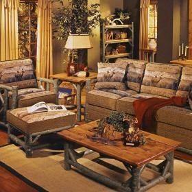 Salon rustico casa web for Casa paulina muebles y decoracion