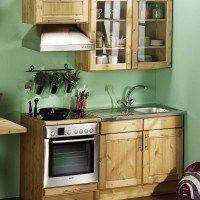 cocina muebles pino armarios de madera maciza1