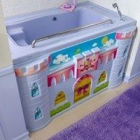 bañera para niños