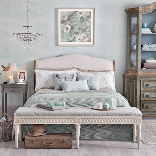 dormitorio matrimonial vintage romantico