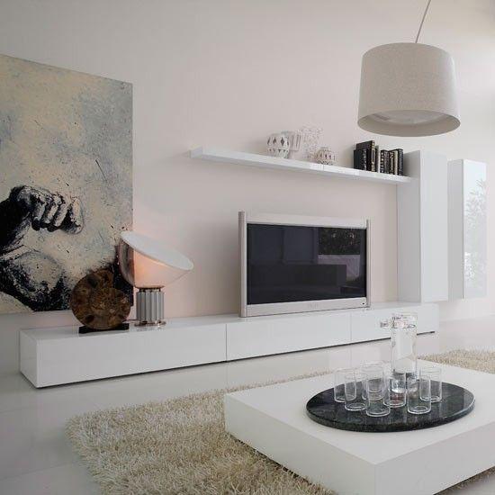 mueble para televisor moderno y minimalista