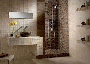 Decoración de baños modernos con cerámica