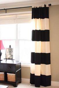 cortinas estilo nautico para sala de estar
