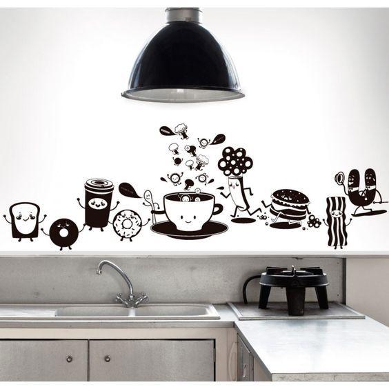 pegatinas decorativas para cocina