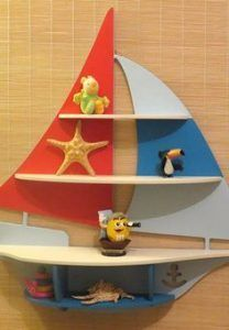 repisa infantil barco