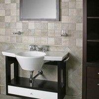 Diseño de baño lujoso y creativo