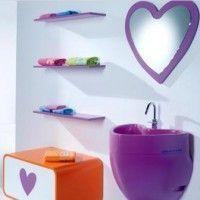 Decoración de corazones para baños