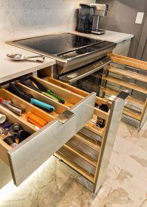 cajones funcionales para cocina