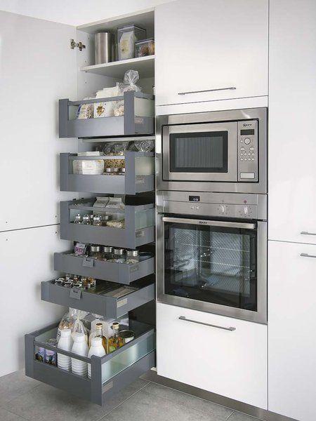 cajones funcionales para cocina moderna