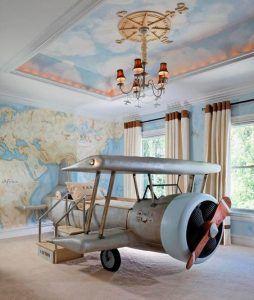 cuato original para niños avion