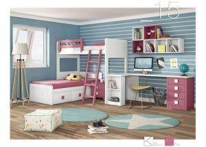 dormitorio para dormir jugar y estudiar grande para nenas