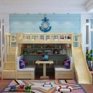 dormitorio para dormir jugar y estudiar para nenes nautico