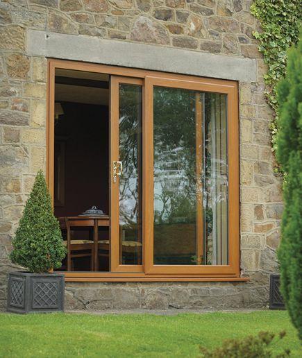 ventana madera moderna