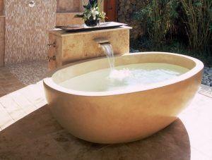 bañera relajante para baño