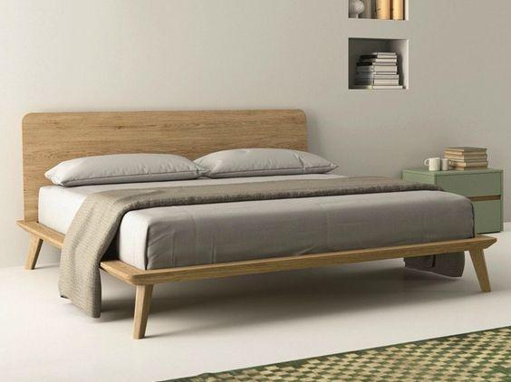 cama nordica de roble blanco