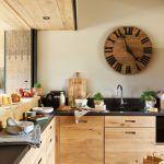 mueble cocina madera moderno