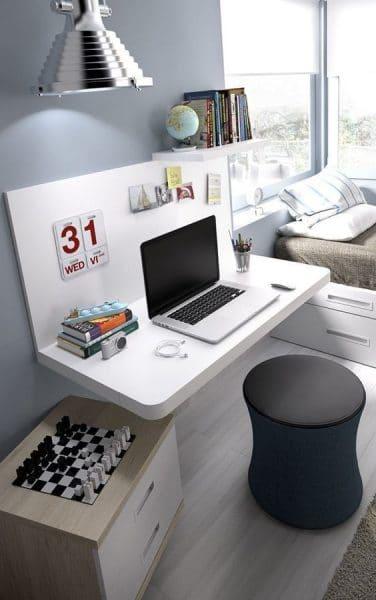 Estilos para los escritorios juveniles casa web for Silla para escritorio en dormitorio juvenil