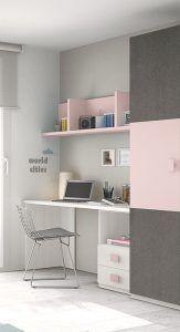 escritorio para habitacion juvenil de chicas