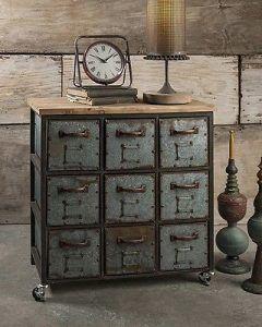 muebles y accesorios antiguos decoracion steampunk