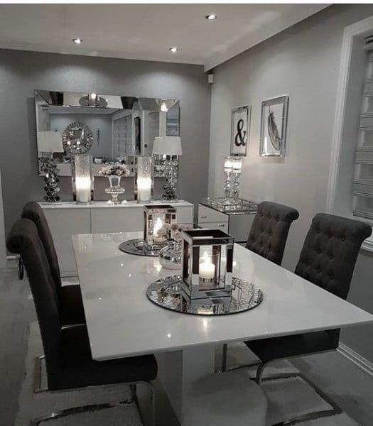 Comedor moderno elegante casa web - Sala comedor modernos ...