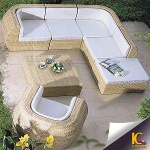 mueble para exterior moderno de mimbre