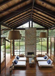 techo altos estilo rustico elegante